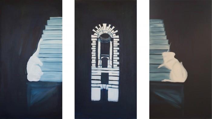 Hawksmoor triptych