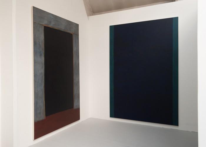 Portal and Fathom (installation view)