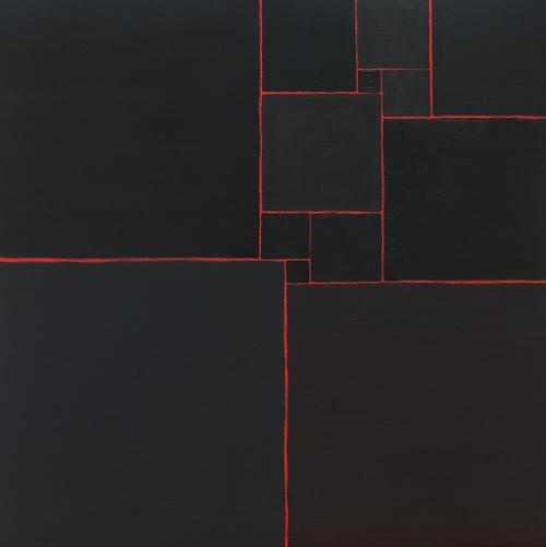 13 - oil on canvas