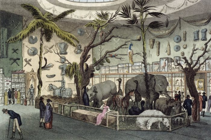 William Bullock's museum at 22 Piccadilly