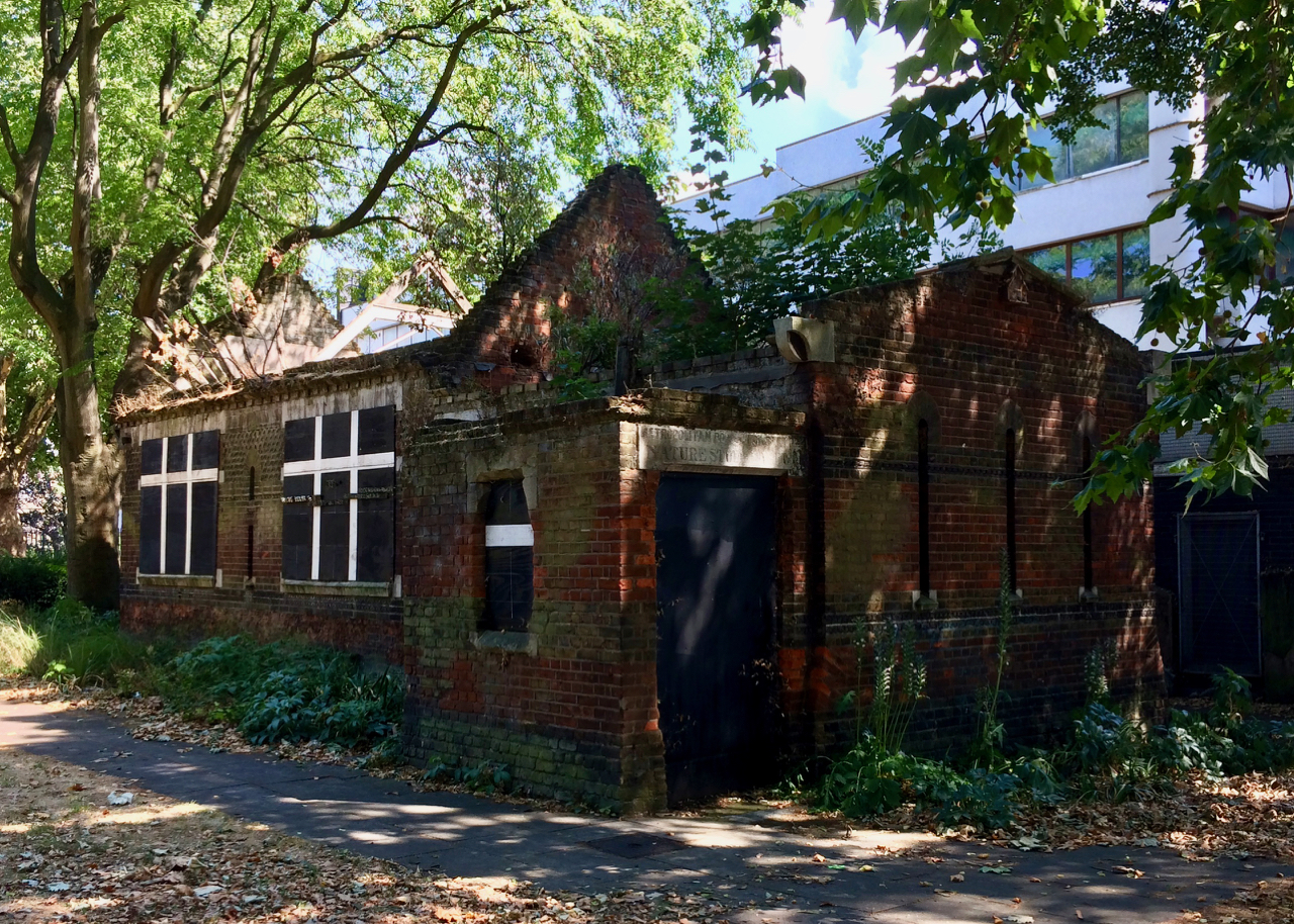 The derelict St George's Nature Study Museum