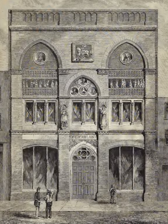 The Royal Architectural Museum in Tufton Street, Westminster